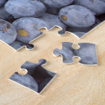 el arándano da fruto, foto admitida una granja del puzzle con fotos