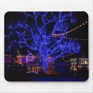 El árbol azul alfombrillas de raton