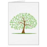 el árbol con recicla para el eco design.png de las tarjeta pequeña