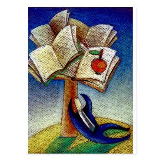 El árbol de aprendizaje postales