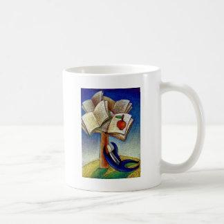 El árbol de aprendizaje tazas de café
