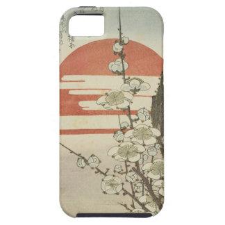 El árbol de ciruelo y el sol naciente iPhone 5 carcasas