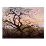 El árbol de cuervos, 1822 postal