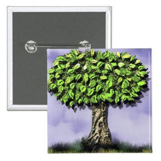 el árbol de donante pin cuadrada 5 cm