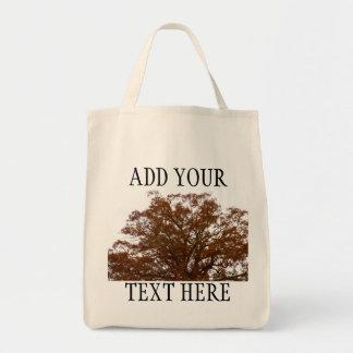 El árbol de encargo del otoño sale de la foto de l bolsa