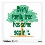 El árbol de familia tiene un poco de savia en él