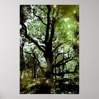 El árbol de hadas poster