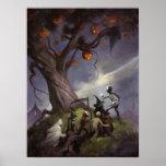 El árbol de Halloween Impresiones