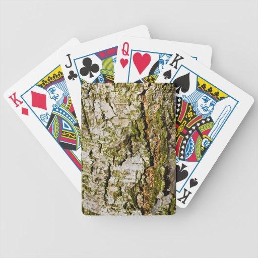 El árbol de haya cartas de juego