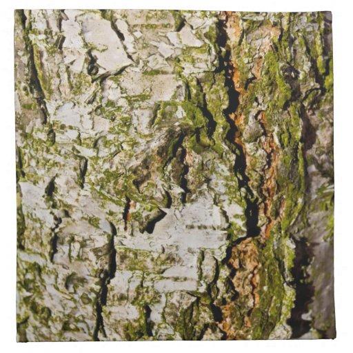 El árbol de haya servilletas imprimidas