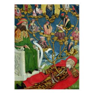 El árbol de Jesse, del altar de la bóveda, 1499 Postal