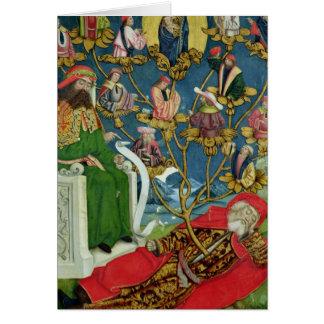 El árbol de Jesse, del altar de la bóveda, 1499 Tarjeta De Felicitación