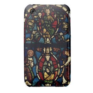 El árbol de Jesse, siglo XIII (vitral) Carcasa Para iPhone 3