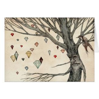 El árbol de la joya felicitaciones