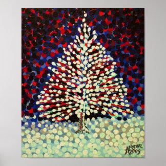 El árbol de la nieve póster