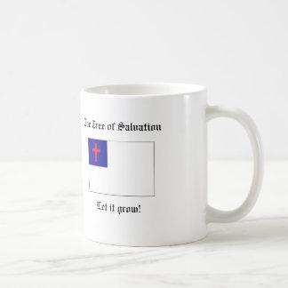 El árbol de la taza de la salvación