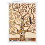 El árbol de la vida de Gustavo Klimt Tarjetas