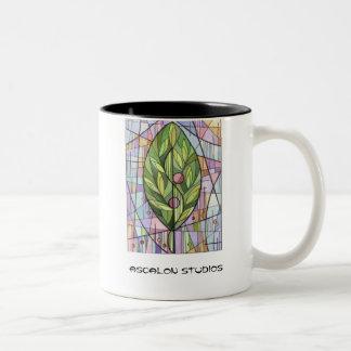 """El árbol de la vida """" de los estudios de Ascalon """" Taza Dos Tonos"""