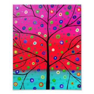 El árbol de la vida florece la pintura fotografía