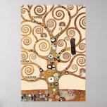 El árbol de la vida por el klimt de Gustavo Poster