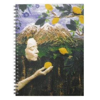El árbol de limón libro de apuntes con espiral