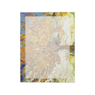 El árbol de mora, Vincent van Gogh. Arte del Blocs De Notas