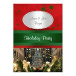 """El árbol de navidad de centro de Rockefeller, Grn Invitación 5"""" X 7"""""""