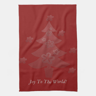 El árbol de navidad de encargo protagoniza día de toallas de mano