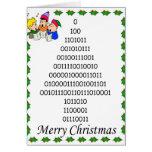 El árbol de navidad de los frikis binarios tarjetón