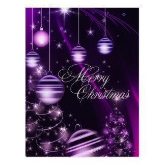 El árbol de navidad del día de fiesta adorna la po