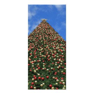El árbol de navidad más grande del mundo lona personalizada
