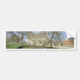 El árbol de Newton en el señorío de Woolthorpe Pegatina Para Auto