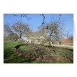 El árbol de Newton en el señorío de Woolthorpe Felicitacion