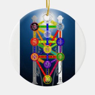 El árbol de Qabalistic del diagrama de la estructu Ornamento Para Arbol De Navidad