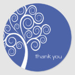 El árbol de Swirly le agradece pegatina (los