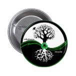 El árbol de Yin Yang reequilibra recicla el botón Pin