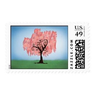 El árbol del amor crece fuerte sellos
