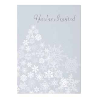 El árbol del copo de nieve invita