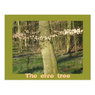 El árbol del elve postales