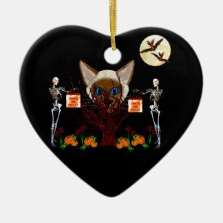 El árbol del gato ornamentos de reyes magos