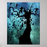 El árbol del Poe Posters