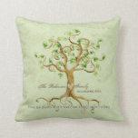 El árbol del remolino de las raíces de la vida per almohadas