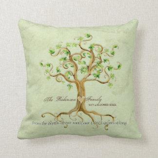 El árbol del remolino de las raíces de la vida per cojines