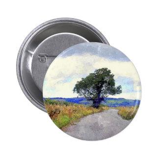 El árbol en el amarrar pins