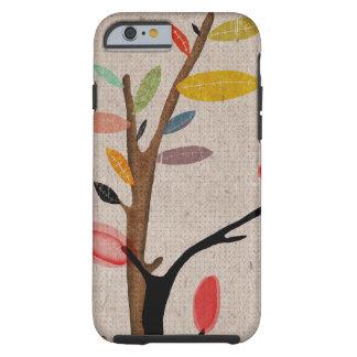 El árbol florece la caja de Rupydetequila Funda De iPhone 6 Tough