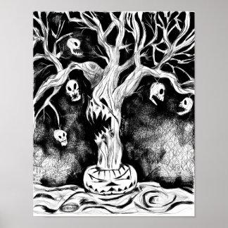 El árbol frecuentado 11 x poster 14