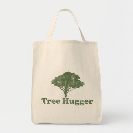 El árbol Hugger piensa verde Bolsa