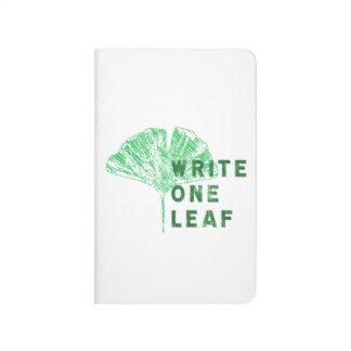 El árbol muerto escribe un Gingko del diario el    Cuadernos Grapados