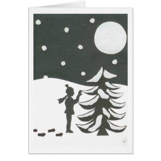El árbol perfecto tarjetas