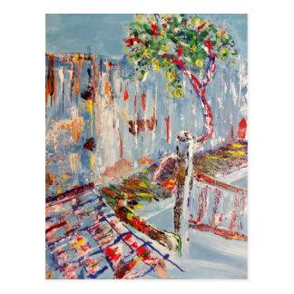 El árbol postales